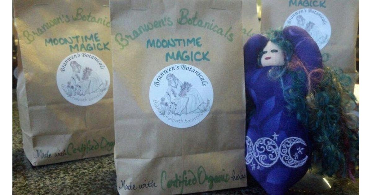 Organic Moontime Magick w/ Vitex Berries Herbal Blend