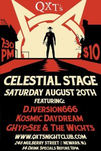QXT's August 20th Celestial Stage Promo