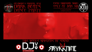 Asylum 13 DJv666 and DJ Strykknine