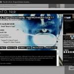 TangenTNoir.com Progress: Preview of On-line Album Interface