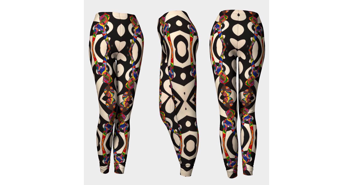 Leggings, and other clothing items featuring my original paintings. by Donna Lynne Art