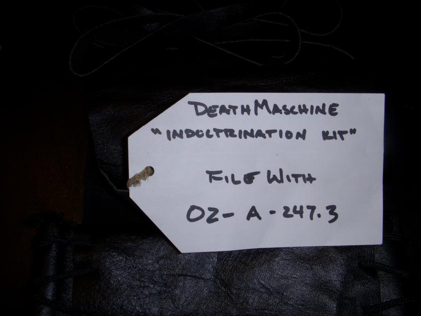 Deathmaschine Indoctrination Kit - PHOTO #8